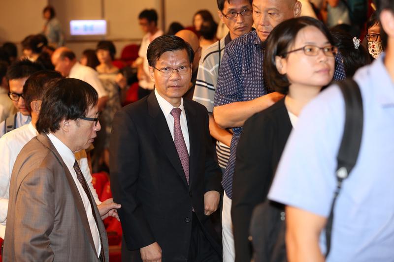 去年唐獎基金會舉辦唐獎週活動時,中研院前院長翁啟惠(圖)仍有獲邀出席,顯示翁與尹衍樑的好交情。