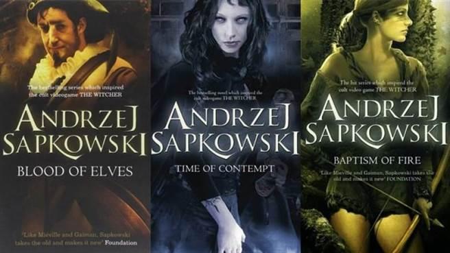 《獵魔人》原版小說封面。