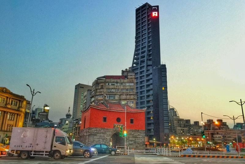 citizenM Taipei台北世民酒店選址於北門站。