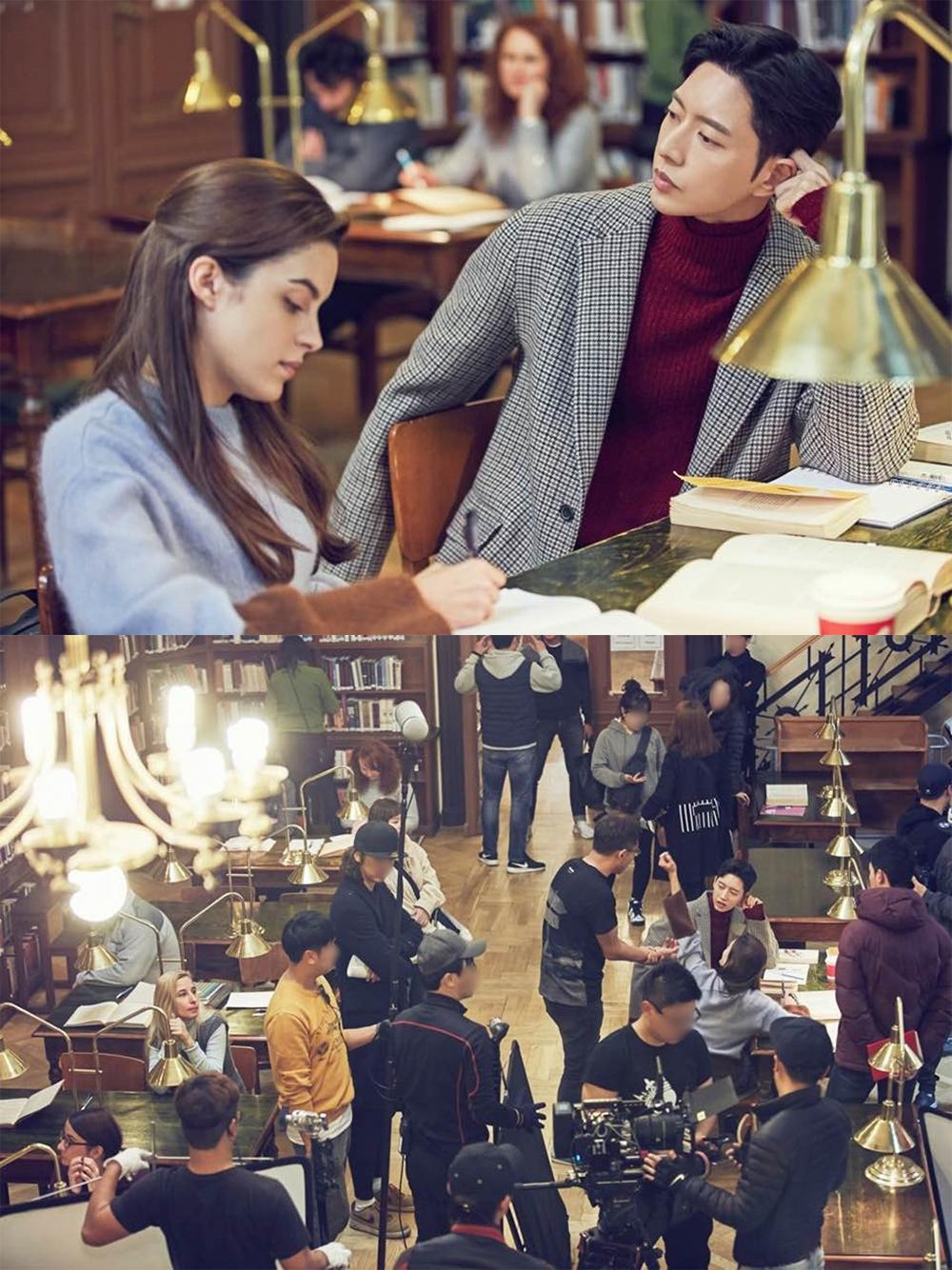 《Man to Man》遠赴匈牙利取景20多日,朴海鎮笑在國外拍戲有工作時間,比在韓國拍攝輕鬆許多。(網路圖片)