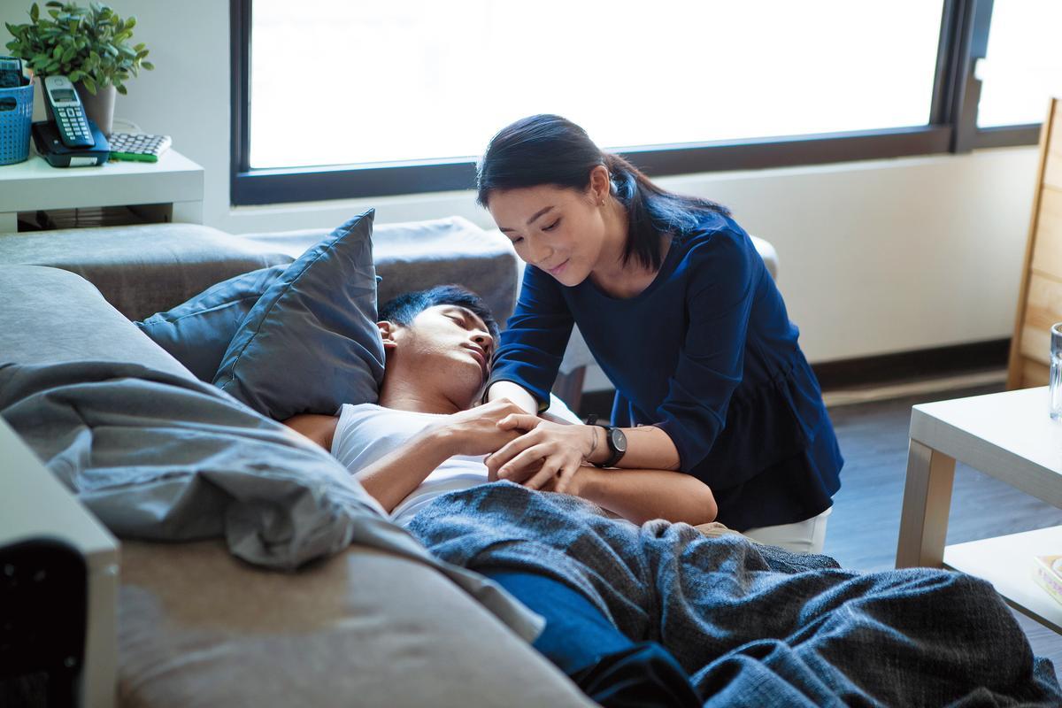 歐陽靖(左)、宥勝(右)主演的電影《菜鳥》,2015年獲選為台北電影節開幕片,也是華文創的作品。