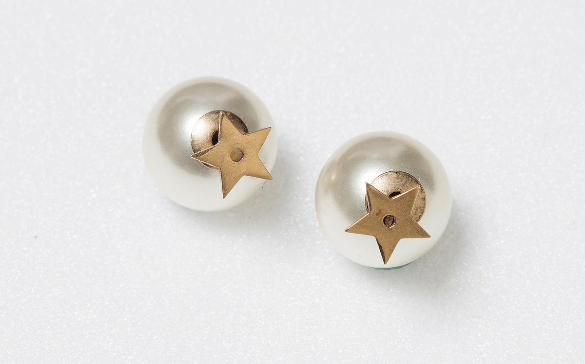 Dior Tribales仿舊金色星星耳環NT$14,000