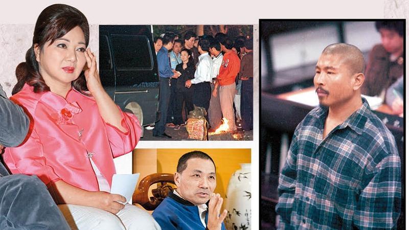 白冰冰(左)20年前痛失愛女白曉燕,即使綁匪陳進興(右)已伏法仍無法原諒,終身投入反廢死運動。