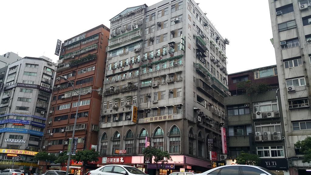 當時位於位於羅斯福路1段二24號4樓的「方保芳外科診所」現址樣貌。