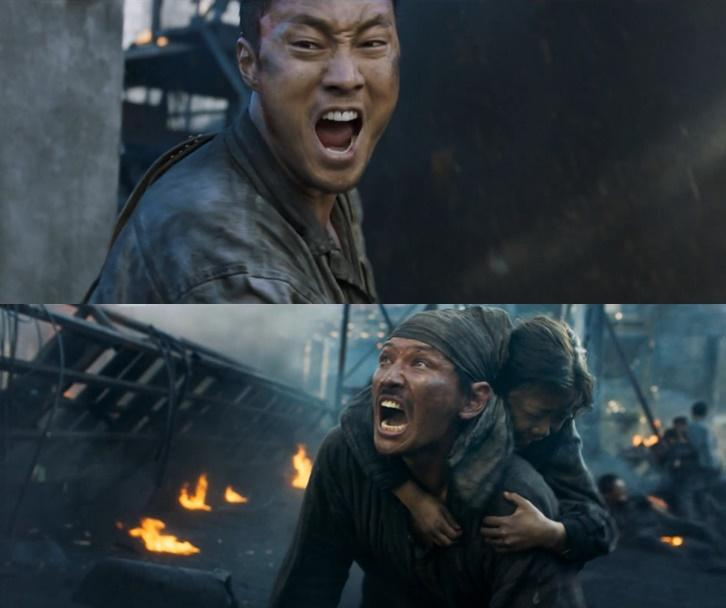 蘇志燮(上)談與國民影帝黃政民(下)合作過程,笑說黃正民腦袋裡除了電影就沒別的了。