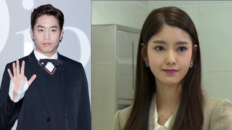 韓國男團神話隊長Eric宣布於7月1日與小12歲女友於首爾教堂舉行結婚儀式。(合成圖片,左圖來源:東方IC)