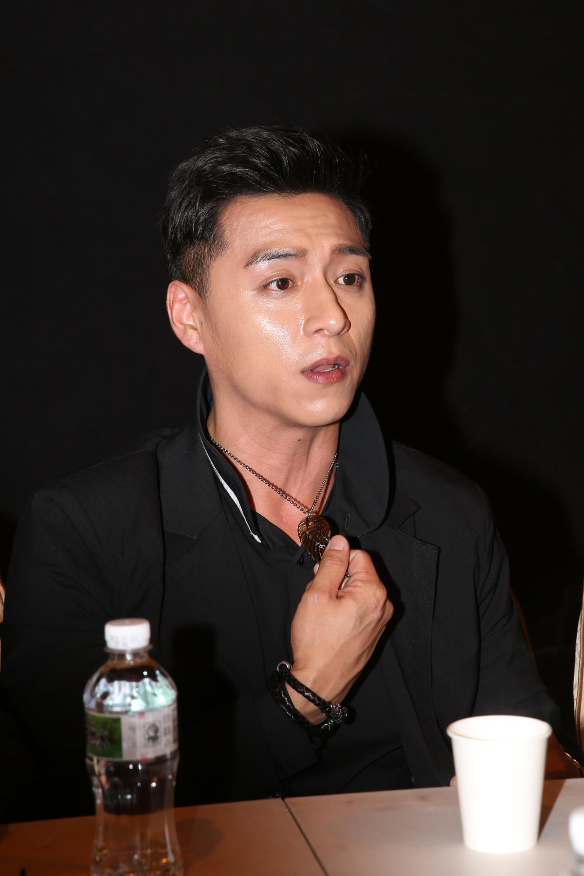 鄭人碩拍攝《角頭2:王者再起》破相。