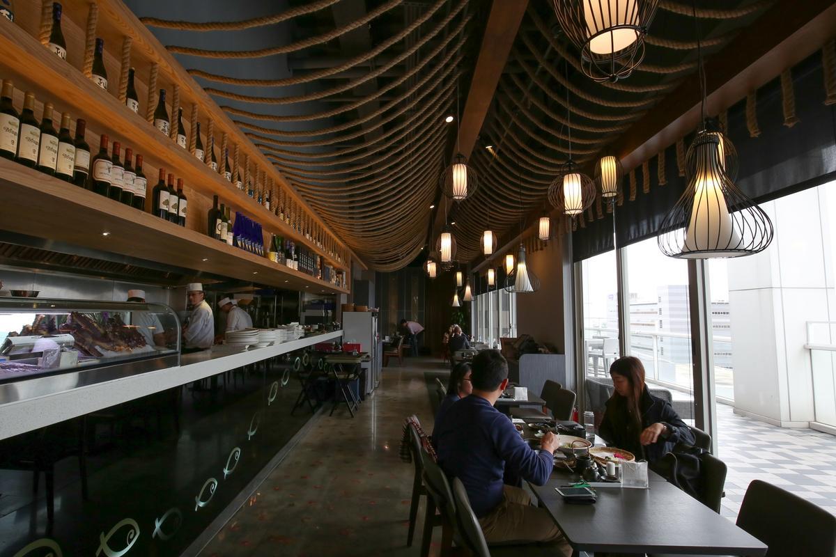 餐廳前身為私人會所,因此隱密性高。