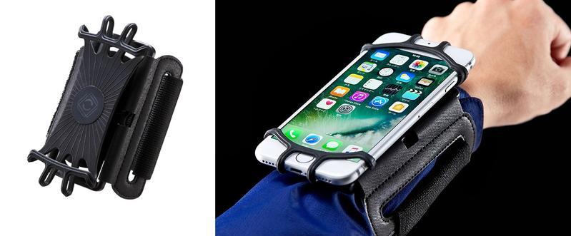 三和supply的新產品,可將攜帶型裝置穿戴在手腕上。