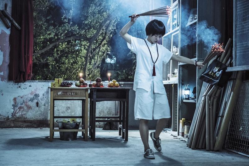 由郭書瑤主演的劇集《通靈少女》,播出後口碑、收視率都創佳績,觀眾也集氣催生第二季。(HBO Asia提供)