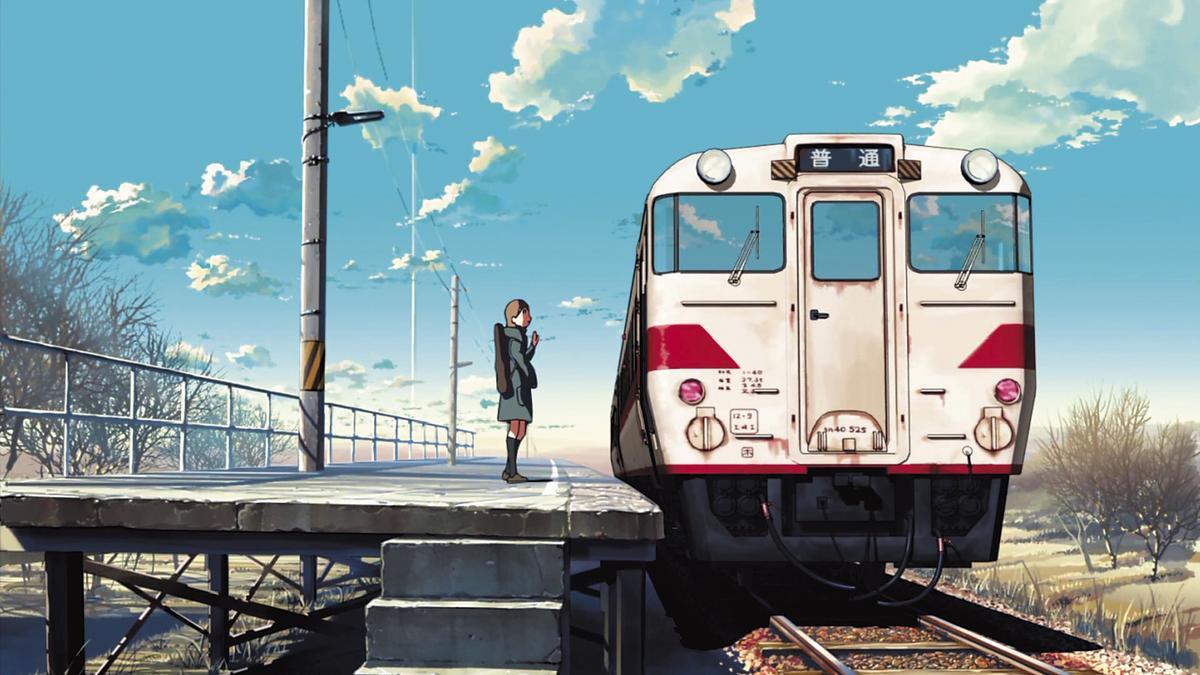 《雲之彼端,約定的地方》打敗宮崎駿,拿下每日電影競賽動畫電影獎的作品。(翻攝自網路)