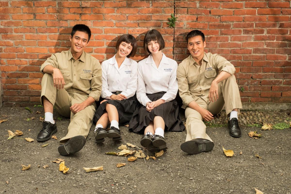沈建宏在新劇飾演叛逆少年,由左自右為:安俊朋、劉宇珊、金凱德、沈建宏。(圖:中視提供)