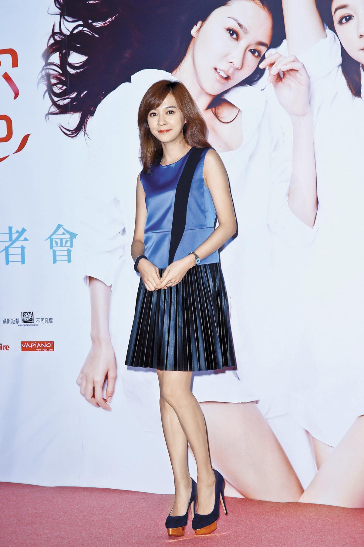 陳意涵與張鈞甯都是台灣影壇知名玉女,這次為《閨蜜2》豁出去,形象差很大。