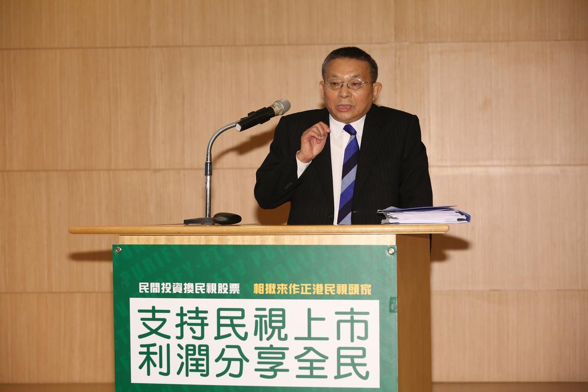 常務董事陳清福認為民視人事已非,讓他不得不跳出來表達心聲。