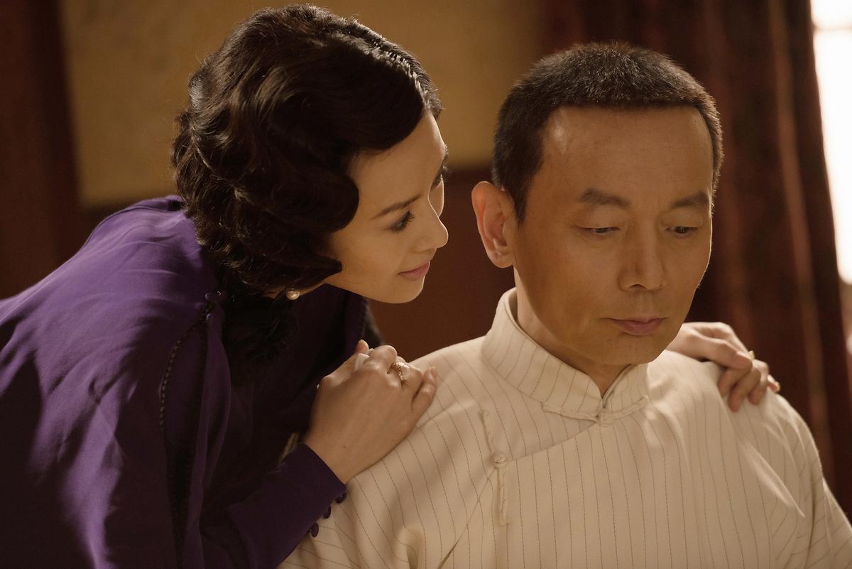 葛優與章子怡在片中有深刻感情戲。