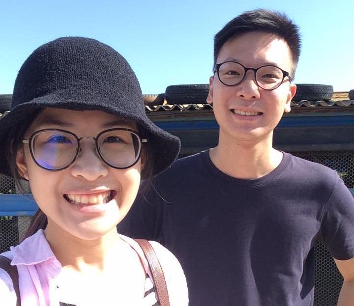 林飛帆與林雅萍今年8月就要一起遠赴英國攻讀學位。(翻攝自林飛帆臉書)