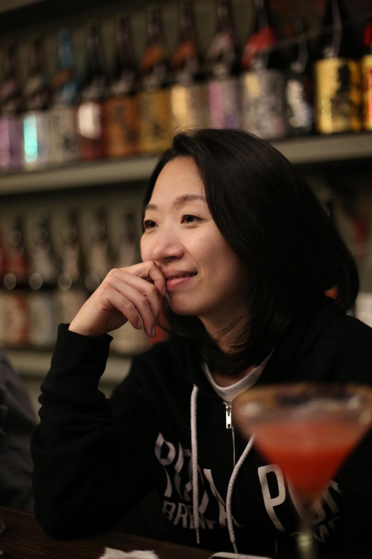 許若瑋喜歡Bar ansleep令人舒適自在的空間。