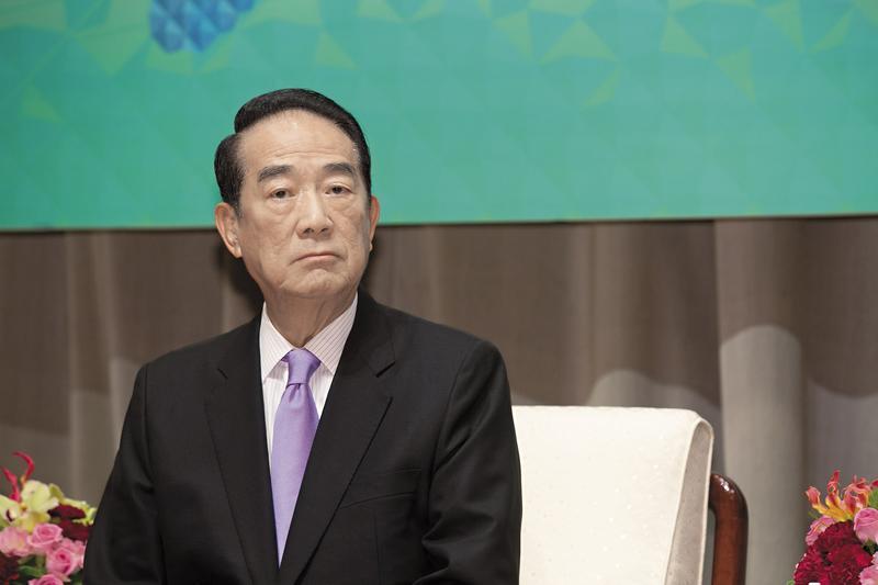 親民黨主席宋楚瑜2012年參選總統,因得票數未達門檻,保證金1,500萬元慘遭沒收。