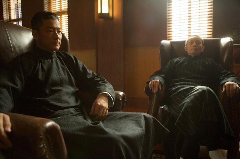 淺野忠信(左)苦練上海話,連葛優也讚嘆。