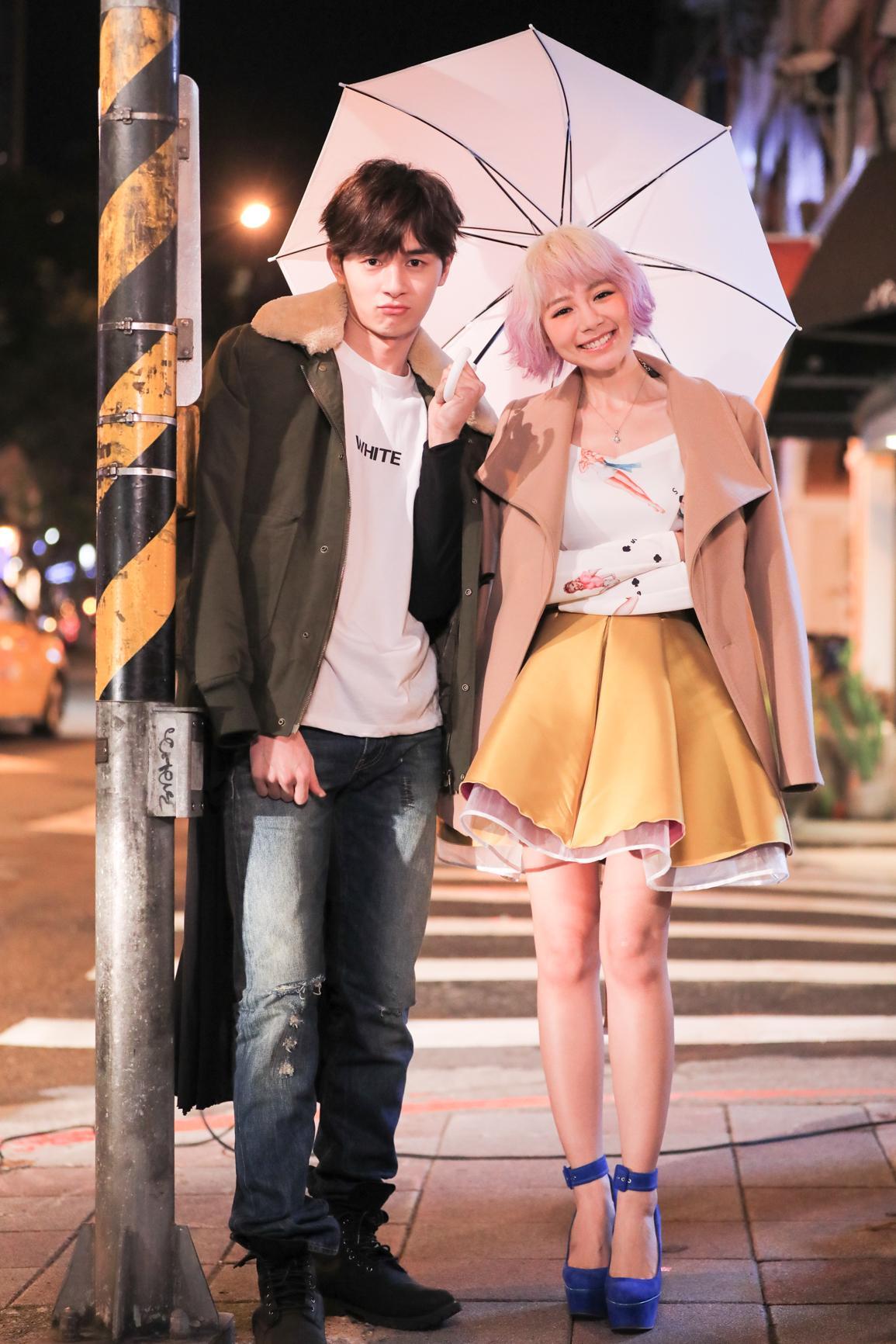 林明禎的〈不是不愛〉MV找來張軒睿跨刀合作製造話題。 (圖:種子音樂)
