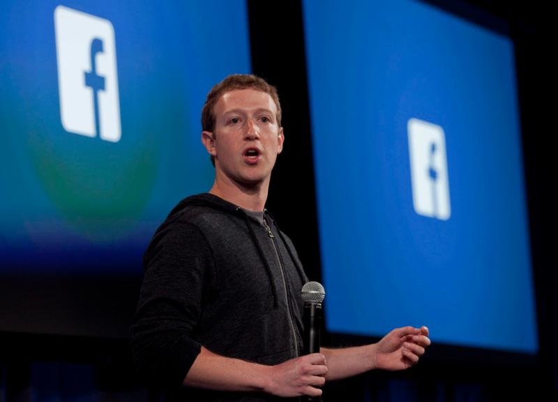 臉書創辦人祖克伯採取了一些措施,設法遏制假新聞。但批評者認為,這些都是表面功夫。(東方IC)