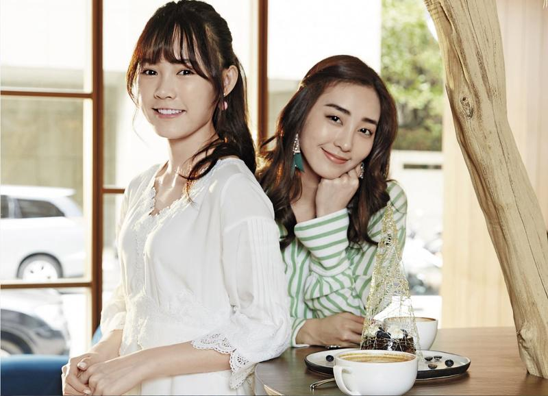 吳心緹(左)跟席惟倫(右)因合作而結緣,兩人不時相約尋找美味特色餐廳,一起大快朵頤。