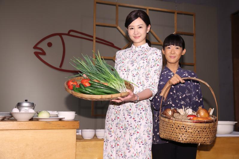 安心亞將在電視劇《五味八珍的歲月》飾演國寶級烹飪大師傅培梅。