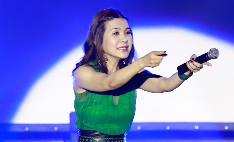 張清芳第六度為醫護無酬演唱。