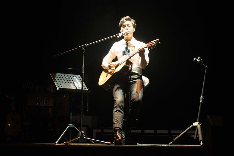 韋禮安舉行「放開那女孩」廣州演唱會,以音樂征服廣州樂迷。