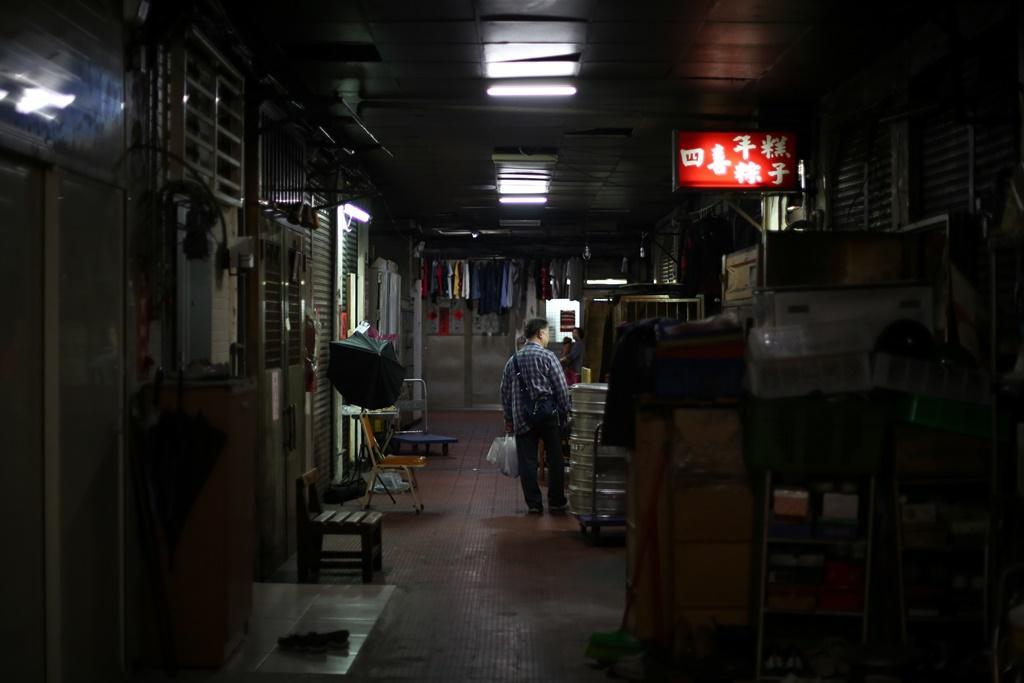 店面環境頗有香港電影,老公寓場景的氛圍。