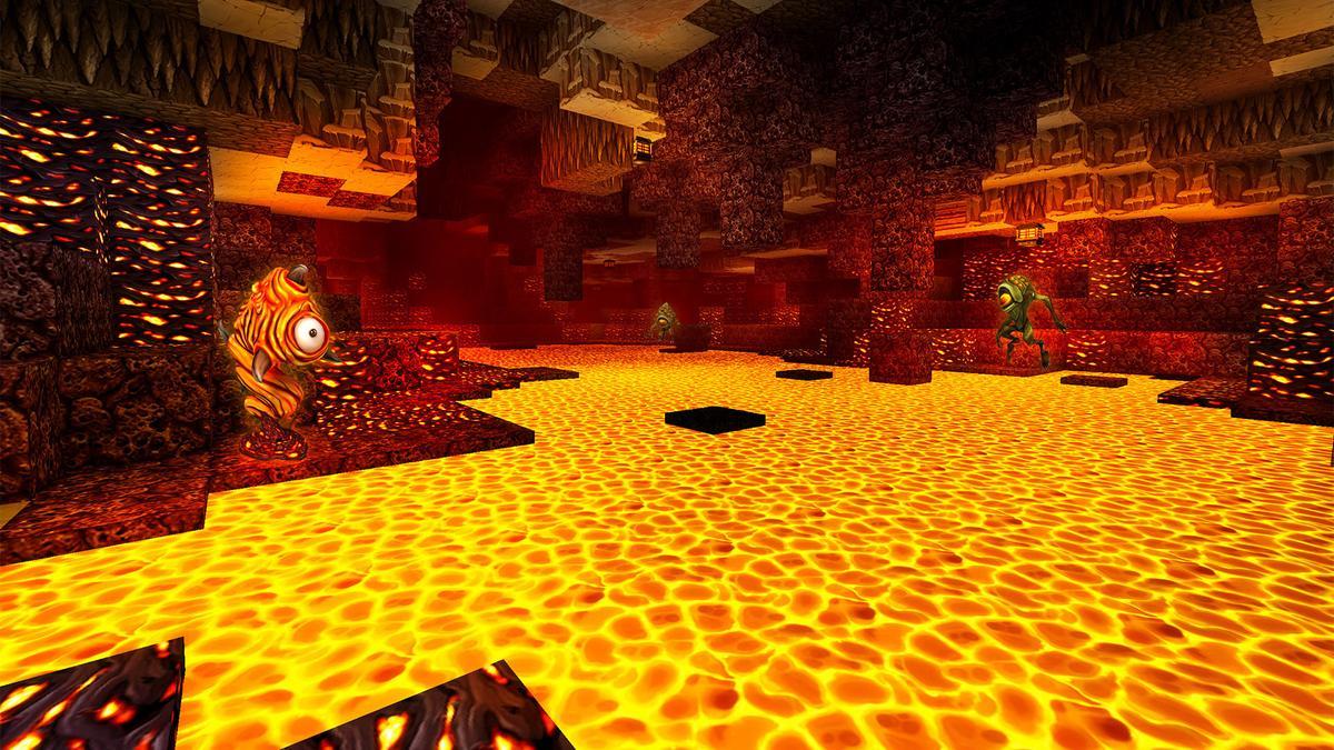 熔岩會造成溫度升高,過熱可能導致扣血(圖片來源:官方)