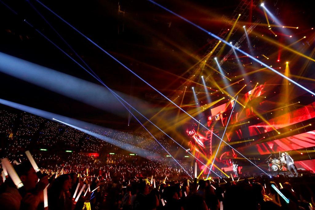 五月天「人生無限公司」世界巡迴演唱會前進香港、邀來「打卡」上班的嘉賓陣容更加堅強。