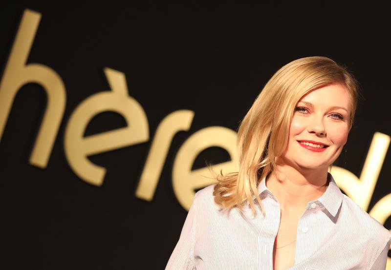 克絲汀最近宣傳新片《魅惑》,透露自己拒絕導演希望她為戲減肥的要求。(東方IC)