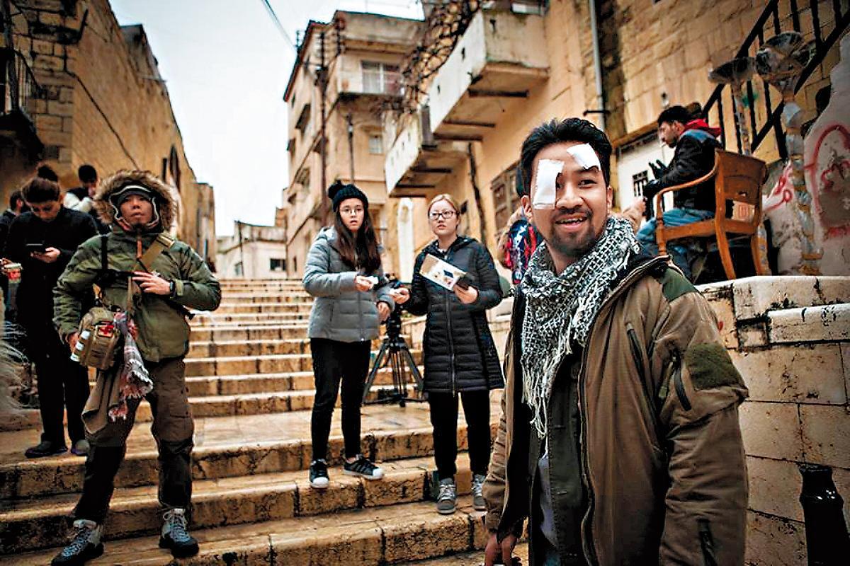 KKTV投資《麻醉風暴2》,補足了製作單位赴約旦拍攝戰地場景的經費。(公視提供)