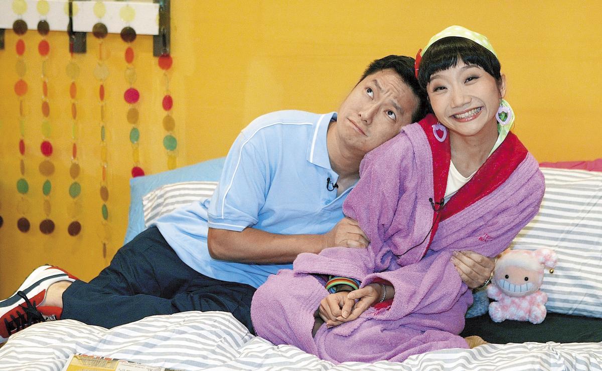 當初謝祖武跟陶晶瑩在《戀愛講義》節目中的小劇場〈安室愛美惠〉演夫妻而大受歡迎,甚至還被外界關心有沒有假戲真做,但謝祖武當時已有女友。(東方IC)
