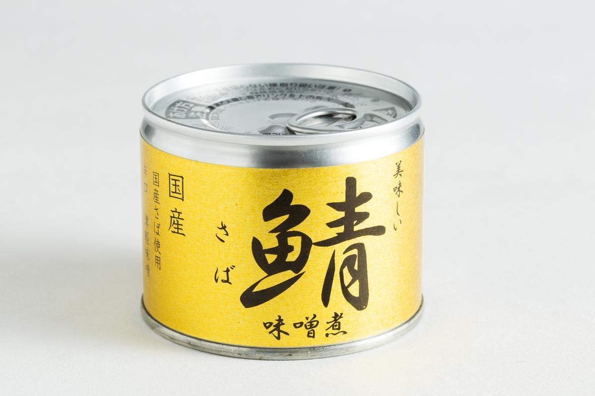 伊藤鯖魚味噌煮罐頭。(家樂福,107元/罐)