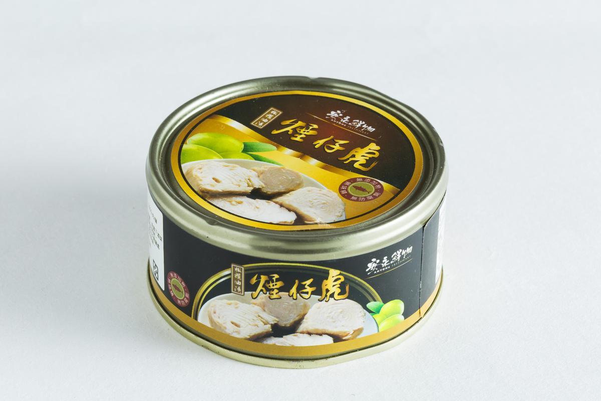 橄欖油煙仔虎腹肉。(安永鮮物,200元/罐)