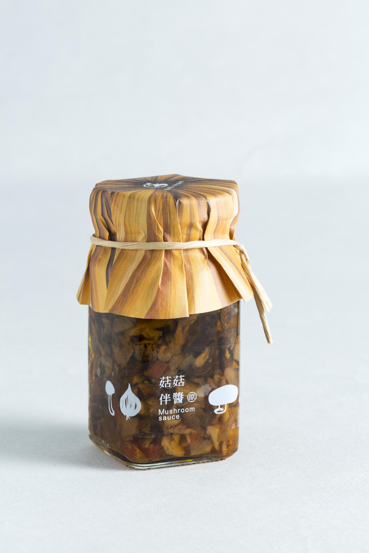 菇菇伴醬。(鹿窯菇事,250元/瓶)