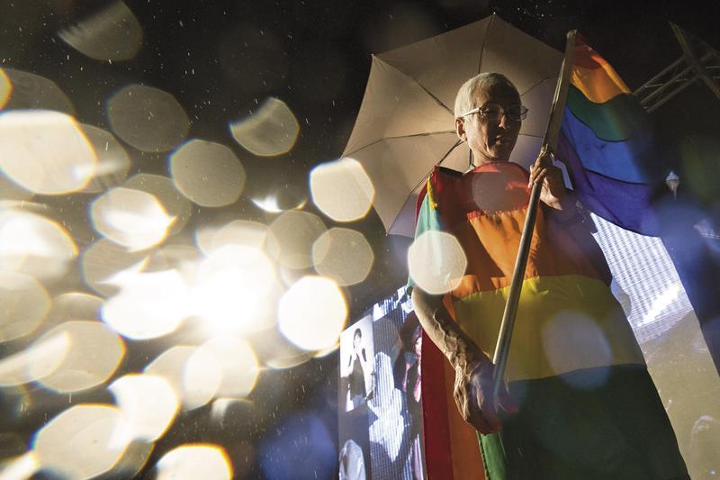 從少年到白頭,祁家威的同志平權運動走了30年。
