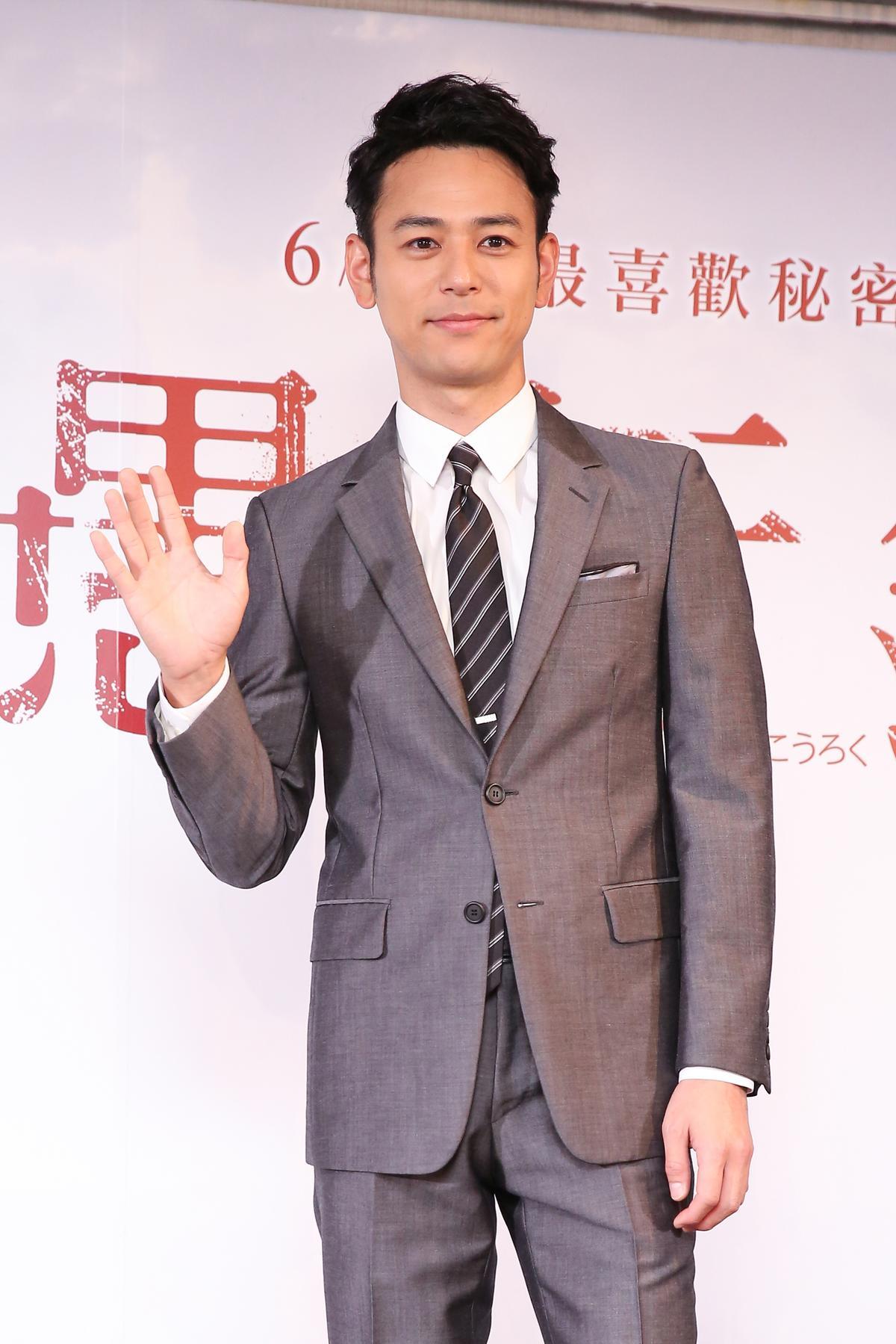 《愚行錄》男主角妻夫木聰來台宣傳,當初他點頭接演讓導演石川慶吃下定心丸。