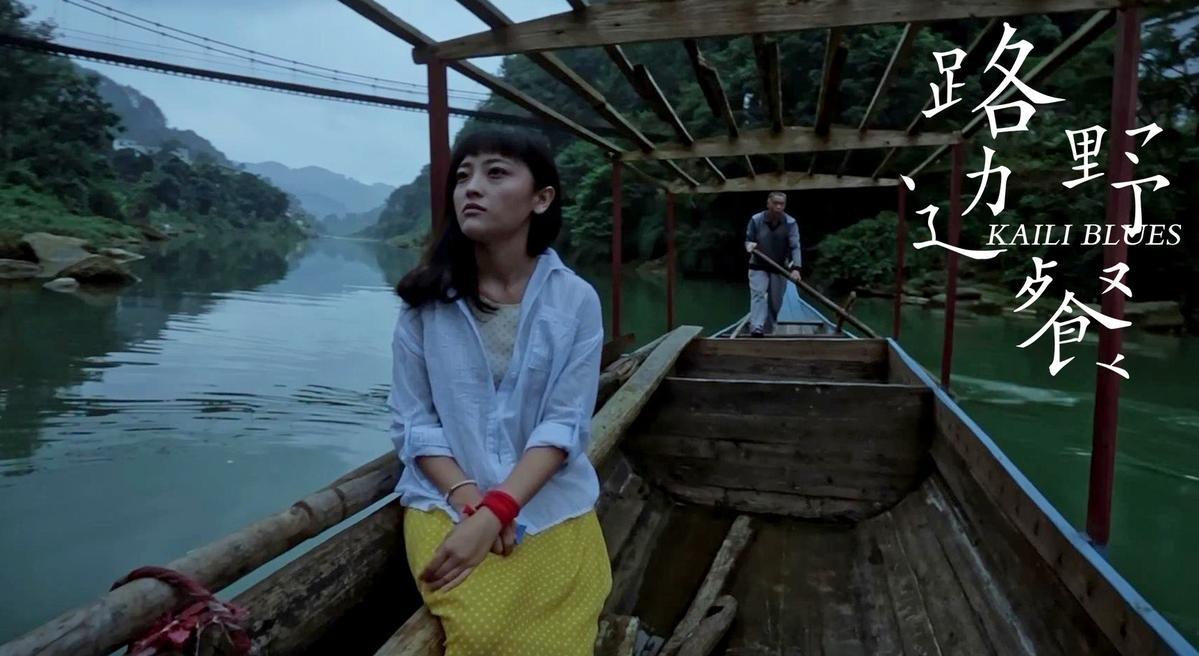 王子劍在《路邊野餐》後製階段加入,並協助參加國際影展。左為演員胡月。(東方IC)