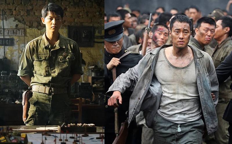 宋仲基與蘇志燮在《軍艦島》的新劇照曝光。