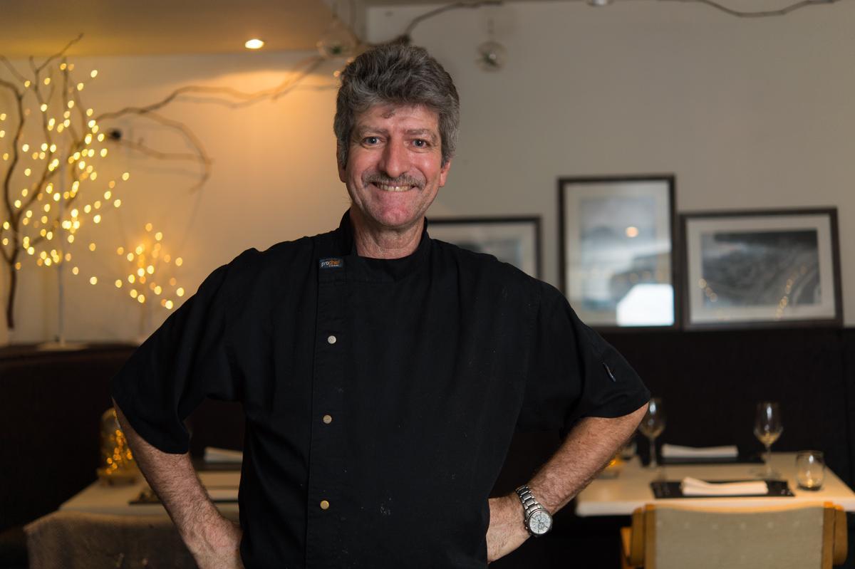 「Mount Bistro」主廚兼老闆Stephen Barry擅長創意料理。