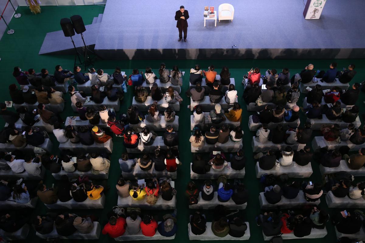 白先勇在兩岸三地仍有高人氣,台灣書展活動作無虛席。