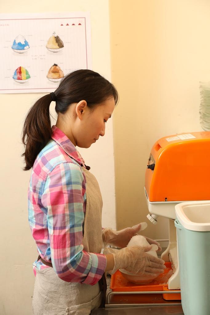 老闆娘楊淑娟曾是公務員,因為受不了公家機關環境決定自己創業。