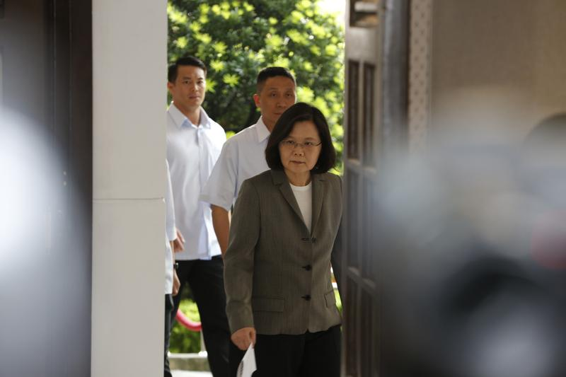 蔡總統正告北京當局,為了維持兩岸和平穩定,台灣已善盡一切責任。