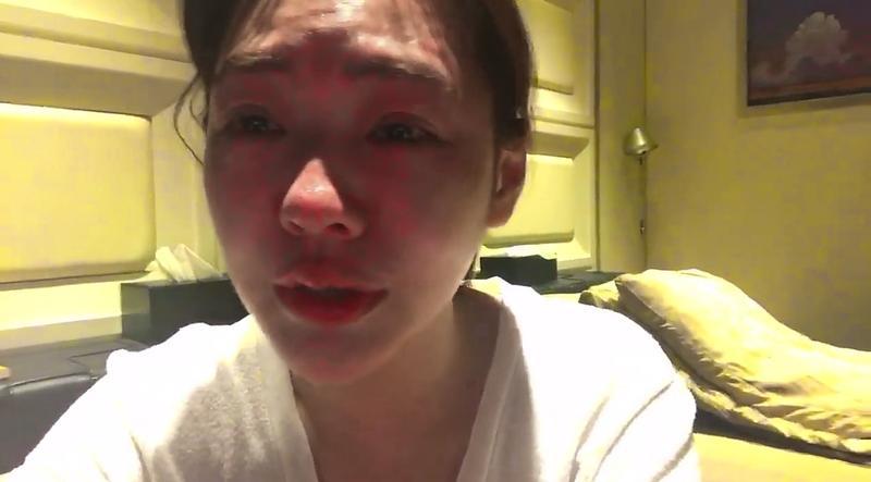 小S邊痛哭邊發表生日感言,吸引大批粉絲關心。(圖:翻攝臉書)
