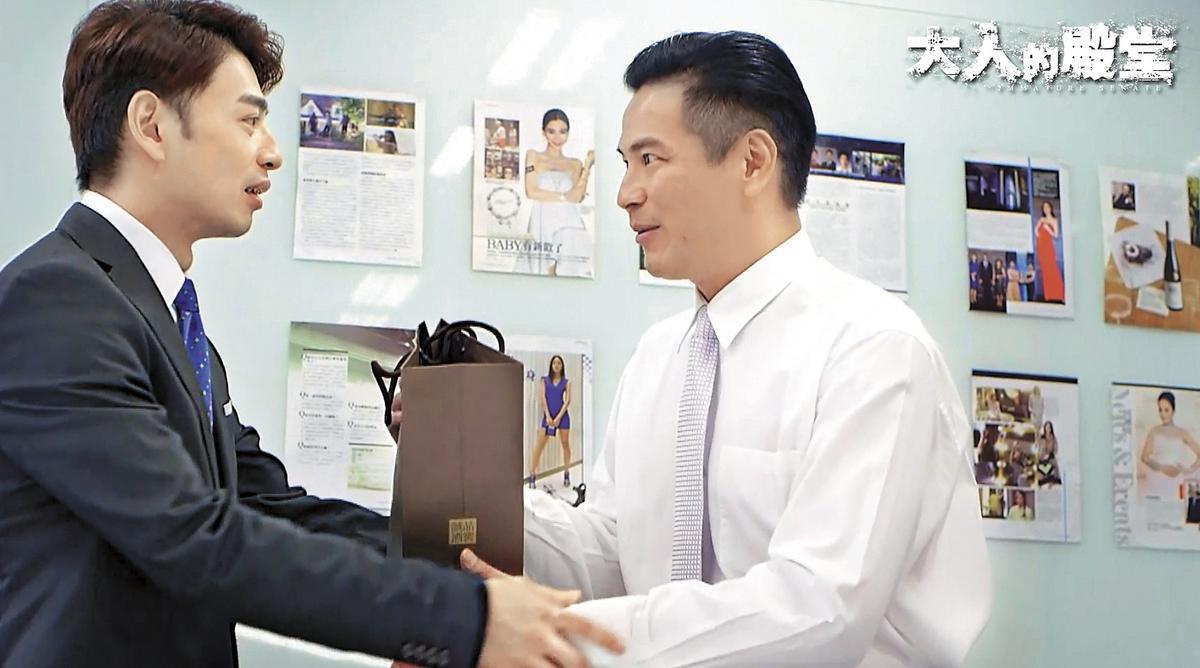 叫好叫座的《大人的殿堂》由阿Ken(左)、馬國賢主演,今年將開拍第二季,內容挑戰最敏感的政治議題。(酷瞧提供)