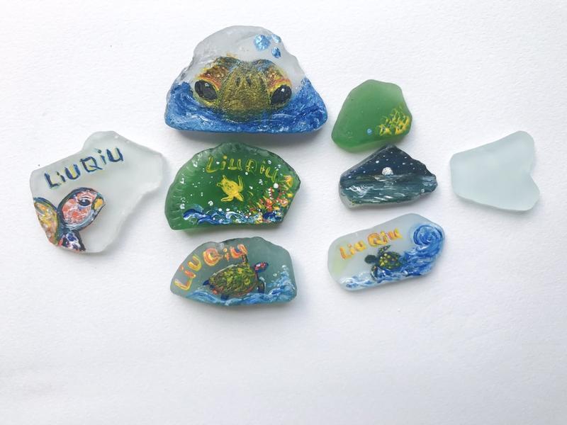 小琉球7月開始可以使用美麗的手繪「海灘貨幣」。