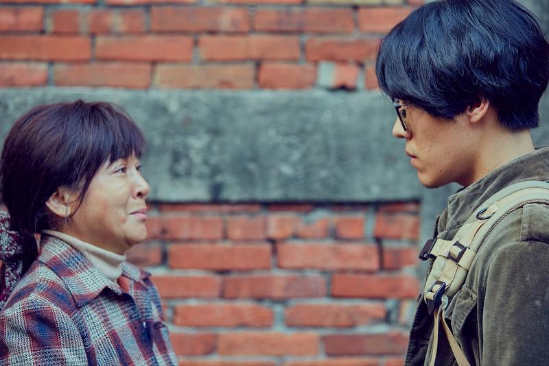 盧廣仲與王彩樺母子重逢的演出,是他第一場哭戲。